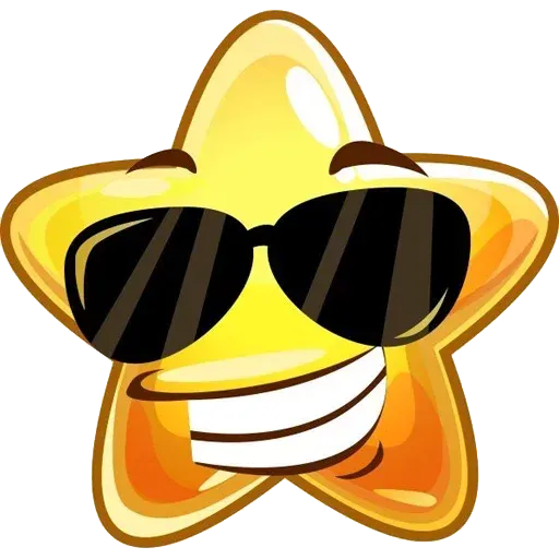 Emoji Stars - Sticker 4