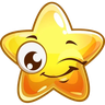 Emoji Stars - Tray Sticker