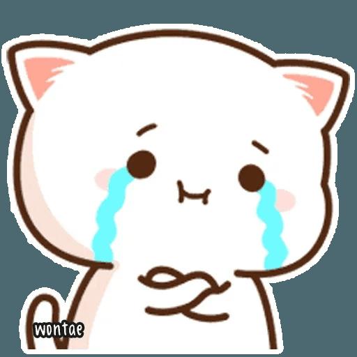 mochi mochi peach cat - Sticker 28