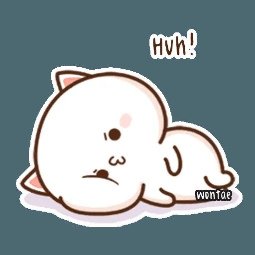 mochi mochi peach cat - Sticker 29