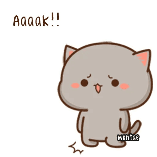mochi mochi peach cat - Sticker 22