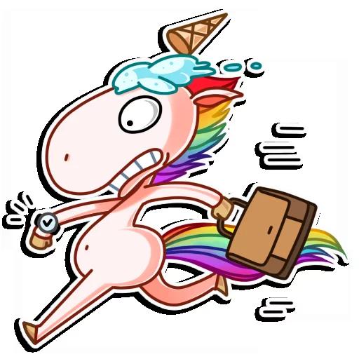 Crazy Pony - Sticker 7