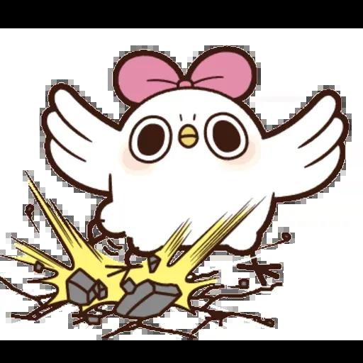 雞17 - Tray Sticker