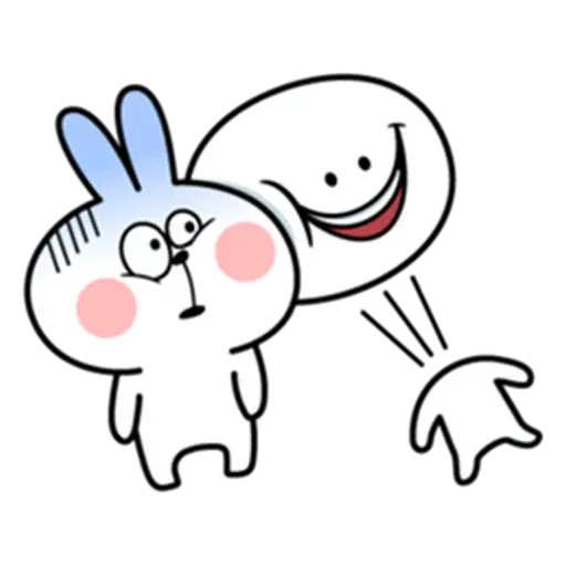 Spoiled rabbit from tg - Sticker 8