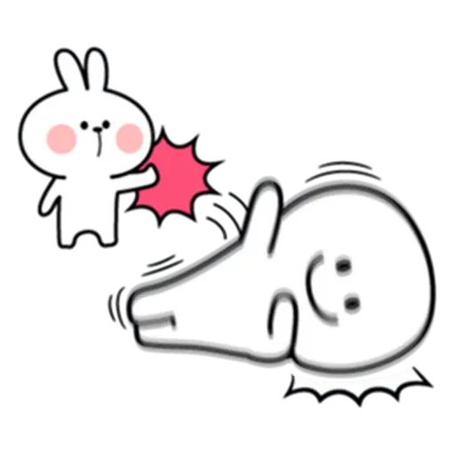 Spoiled rabbit from tg - Sticker 3