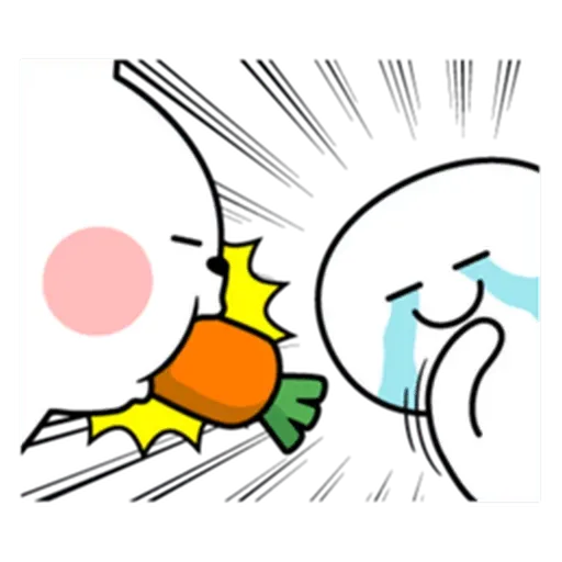 Spoiled rabbit from tg - Sticker 21