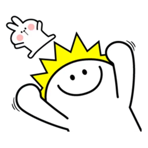 Spoiled rabbit from tg - Sticker 4