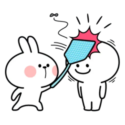 Spoiled rabbit from tg - Sticker 15