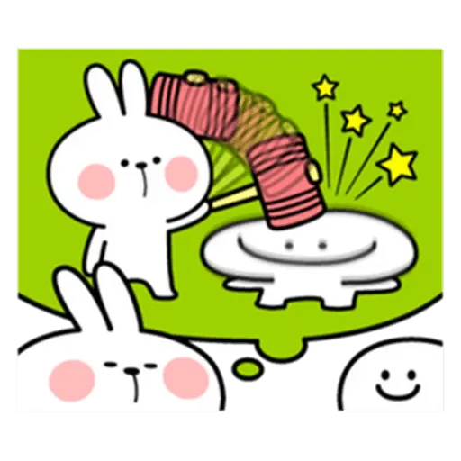 Spoiled rabbit from tg - Sticker 22