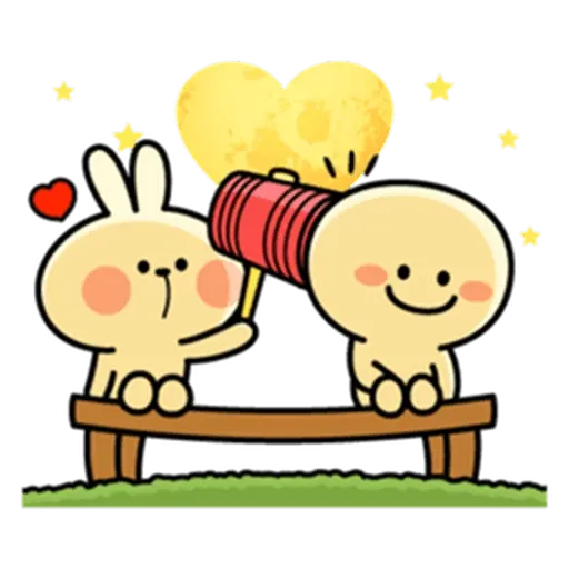 Spoiled rabbit from tg - Sticker 25