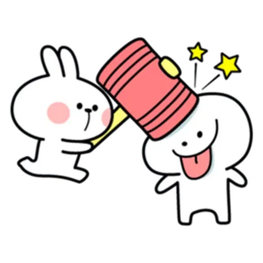 Spoiled rabbit from tg - Sticker 23