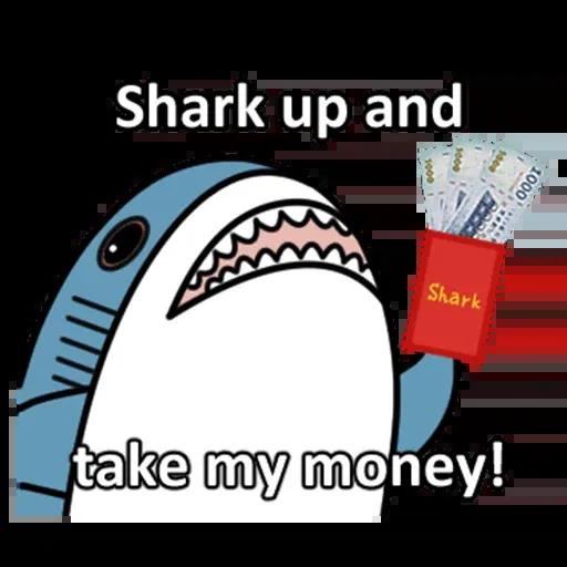 鯊鯊梗圖 - Sticker 13