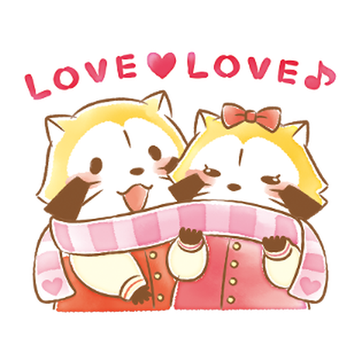 Rascal's Heartwarming Stickers #1 - Sticker 2