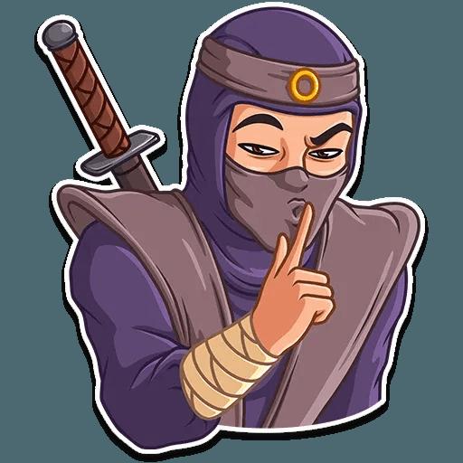 Samurai - Sticker 25