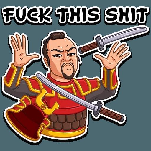 Samurai - Sticker 11