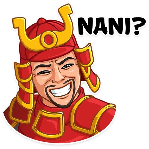 Samurai - Sticker 14