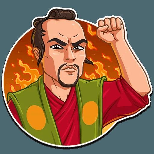 Samurai - Sticker 15