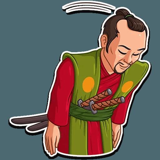 Samurai - Sticker 5
