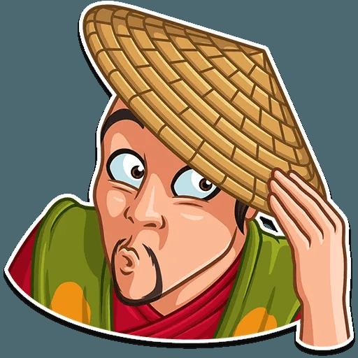 Samurai - Sticker 4