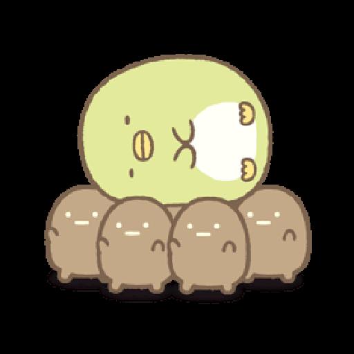 もっと!動くすみっコぐらし - Sticker 17