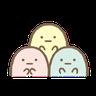 もっと!動くすみっコぐらし - Tray Sticker
