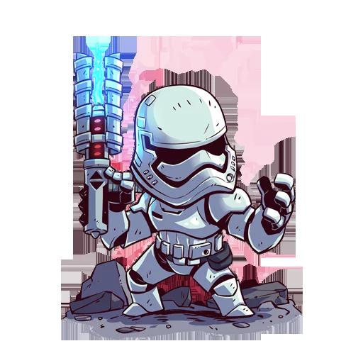 Fighter - Sticker 2
