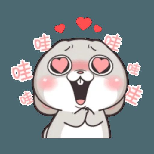 Cute Rabbit 2 - Sticker 21