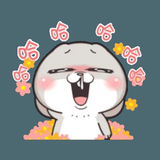 Cute Rabbit 2 - Sticker 25