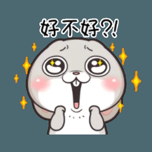Cute Rabbit 2 - Sticker 28