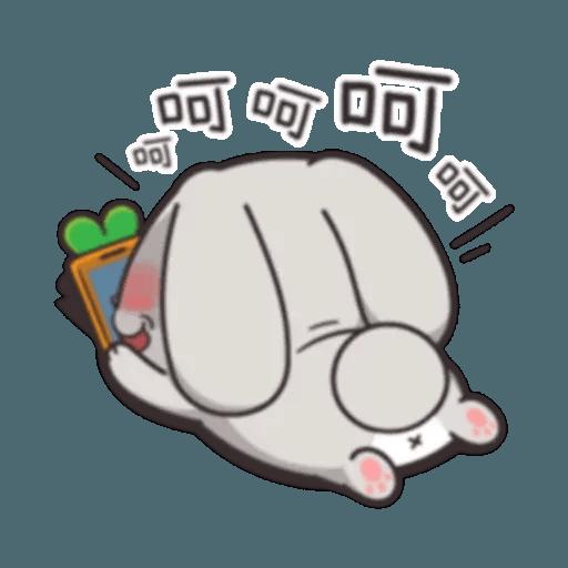 Cute Rabbit 2 - Sticker 17