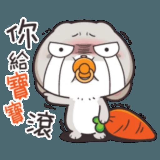 Cute Rabbit 2 - Sticker 18