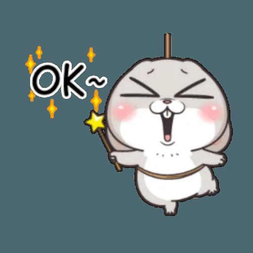 Cute Rabbit 2 - Sticker 29