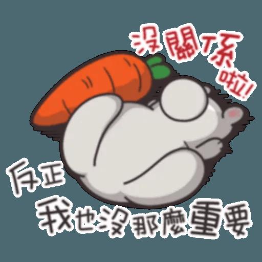 Cute Rabbit 2 - Sticker 20