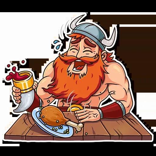 Viking - Sticker 1