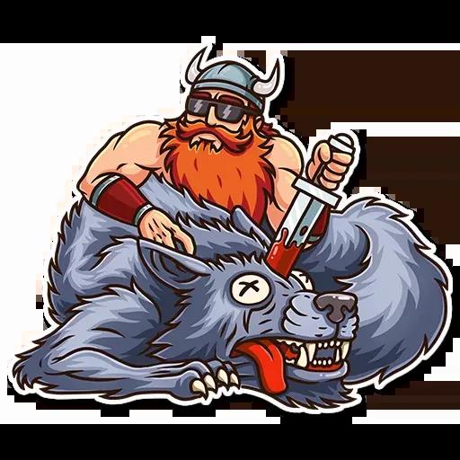 Viking - Sticker 18