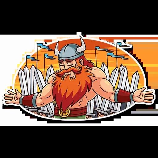 Viking - Sticker 21