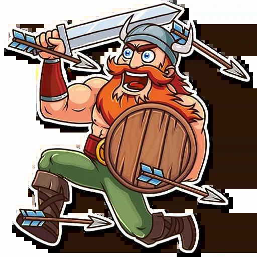 Viking - Sticker 16