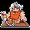 Viking - Tray Sticker