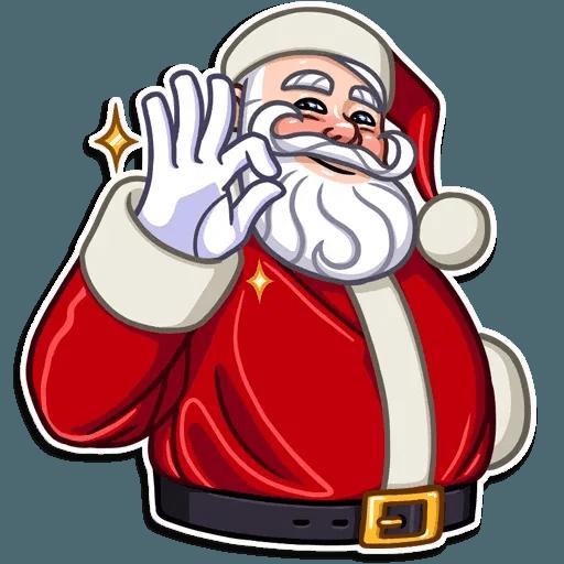 Santa Claus - Sticker 9