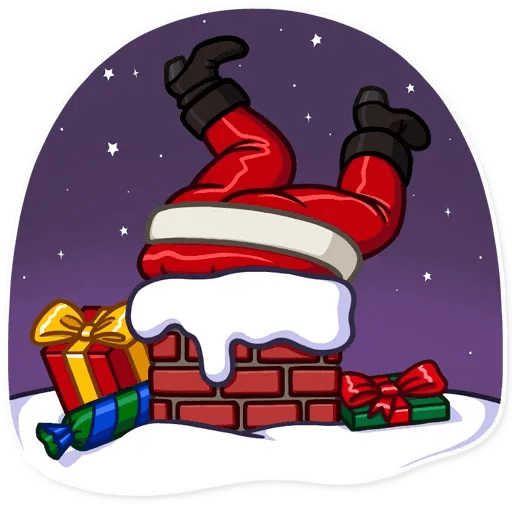 Santa Claus - Sticker 16