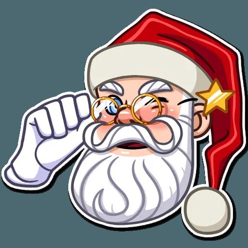 Santa Claus - Sticker 14
