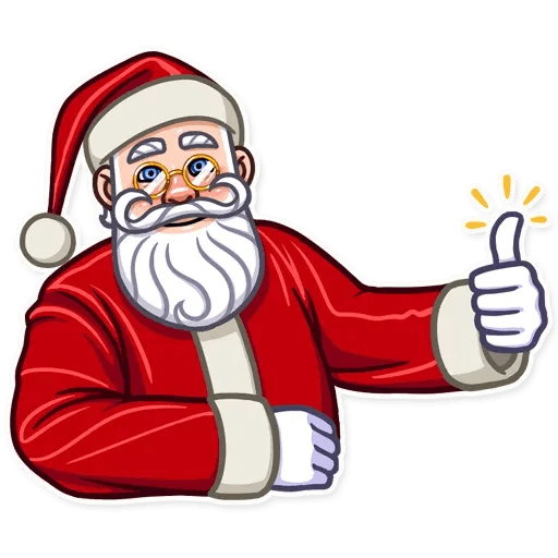 Santa Claus - Sticker 3