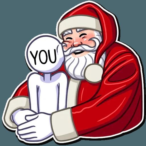 Santa Claus - Sticker 7