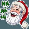 Santa Claus - Tray Sticker