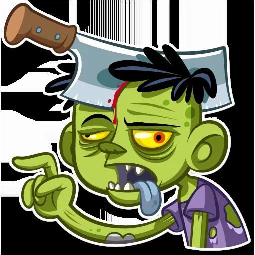 Zombie - Sticker 7
