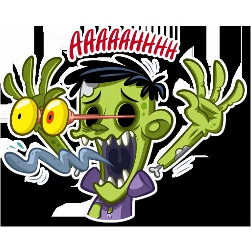 Zombie - Sticker 19