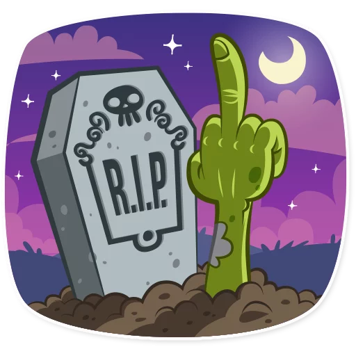 Zombie - Sticker 13