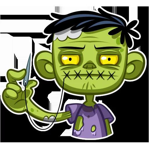 Zombie - Sticker 30