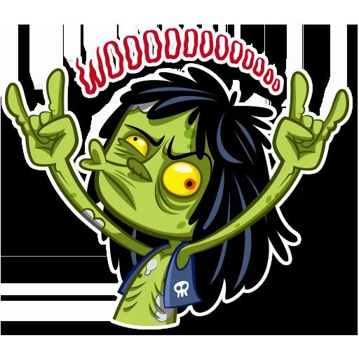 Zombie - Sticker 12