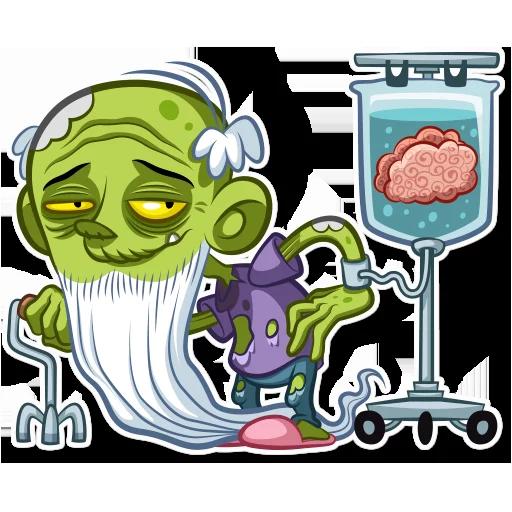 Zombie - Sticker 28
